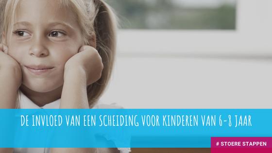 De invloed van een scheiding voor kinderen van 6-8 jaar.